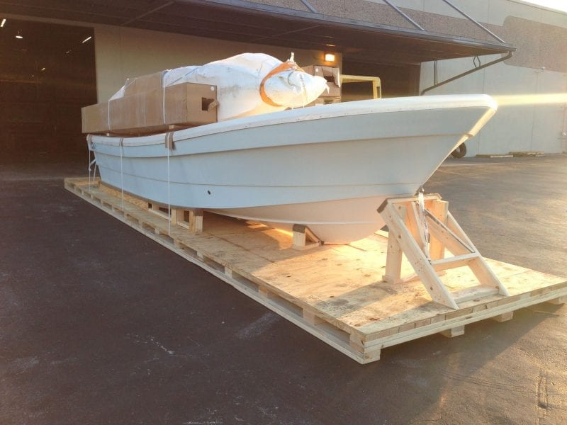 All American Crating   Boat for Crating